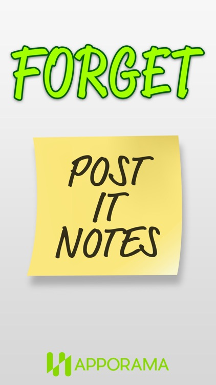 Post it Stickers Forget