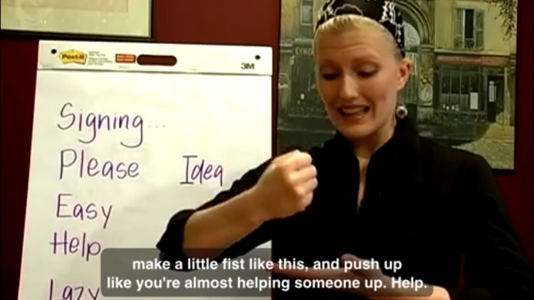 Sign Language Master Class screenshot-2