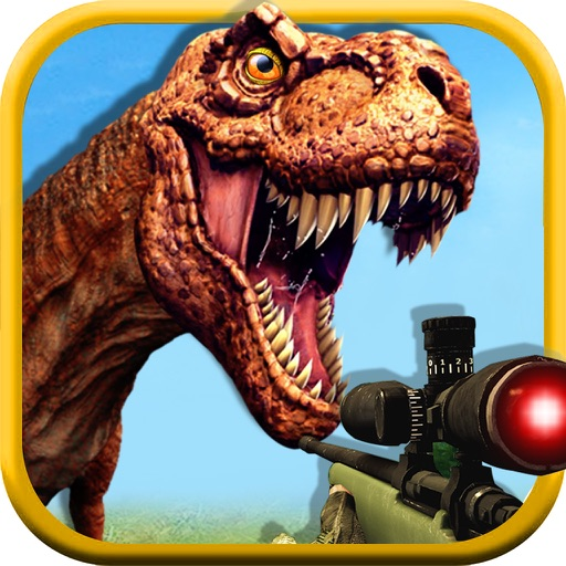 3D Dinosaur Hunting Park Animal Simulator Games Icon