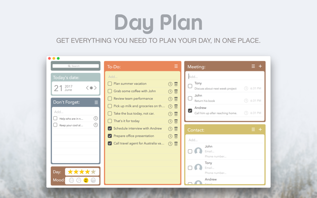 ‎Day Plan on the Mac App Store