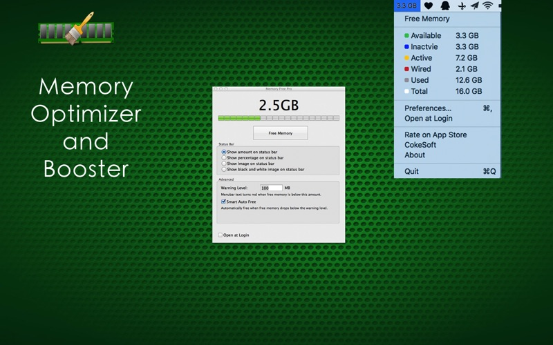 Memory Free Pro Screenshot