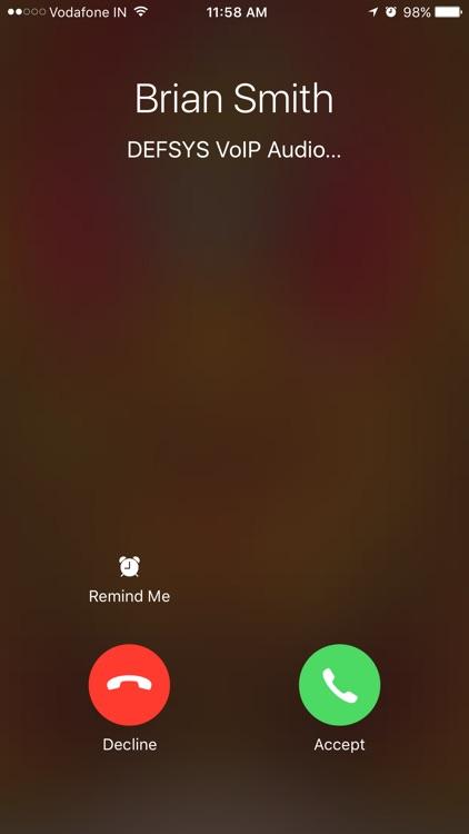 DEFSYS VoIP screenshot-4