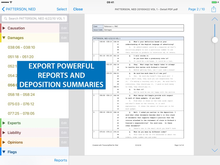 TranscriptPad ™ screenshot-4