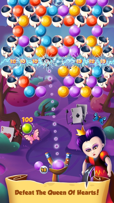 Alice Bubble POP in Wonderland screenshot four