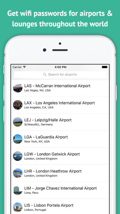 Download Travel Hackr - Airport Wifi and Lounge Passwords for Android