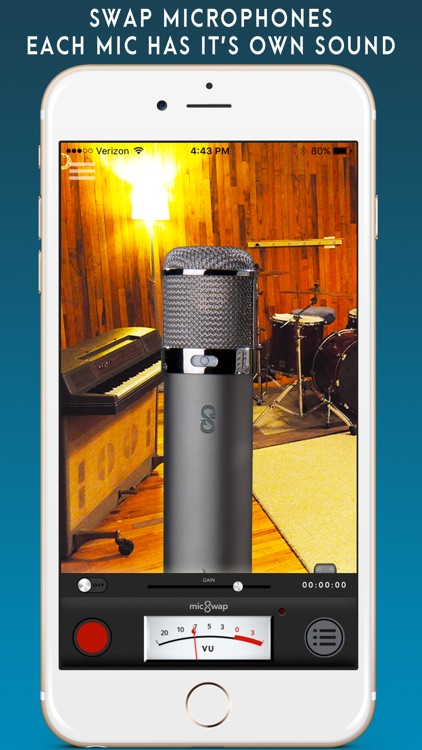 MicSwap Pro: Microphone Emulator And Recorder