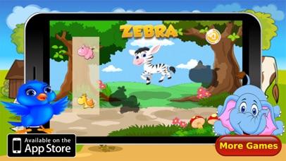 Animals Puzzle Vocabulary Screenshot
