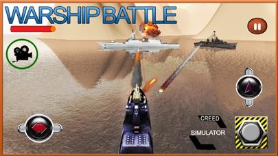 Navy Warship Gunner Fleet - WW2 War Ship Simulator screenshot two