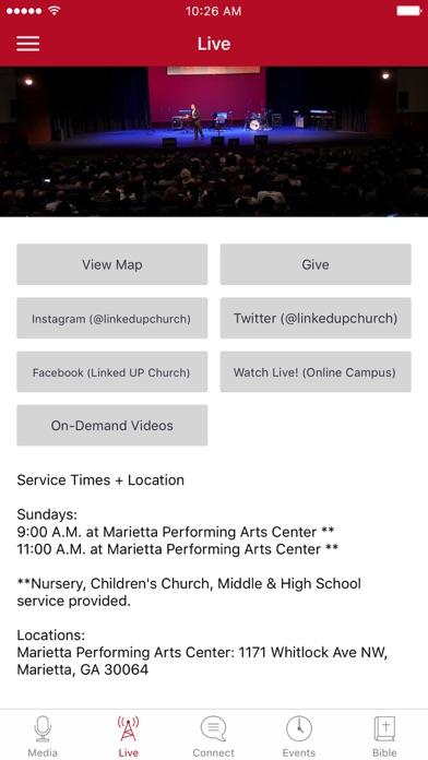 Linked UP Church screenshot 2