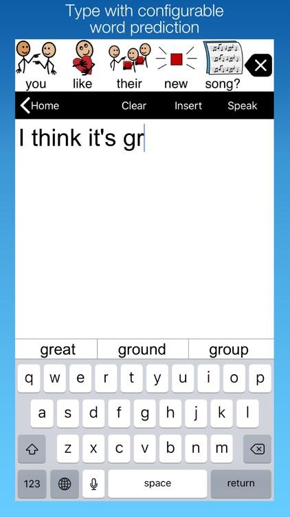 Proloquo2Go - Symbol-based AAC screenshot-4