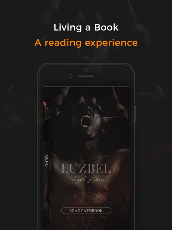 Luzbel - Interactive Book app scary horror story screenshot 10