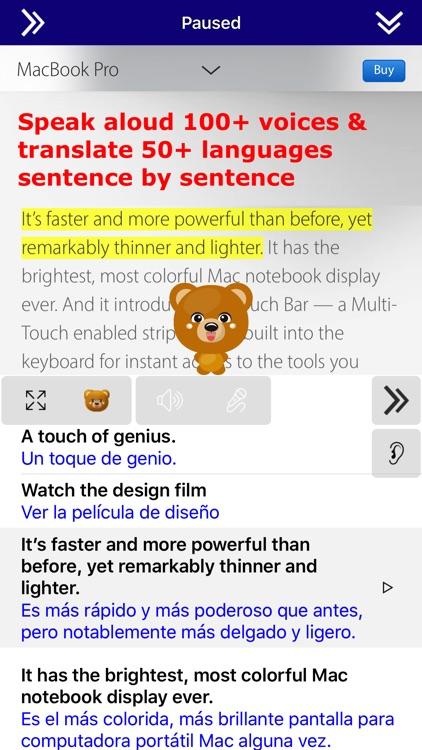 SpeakText Lite (Speak & Translate Text/Web)