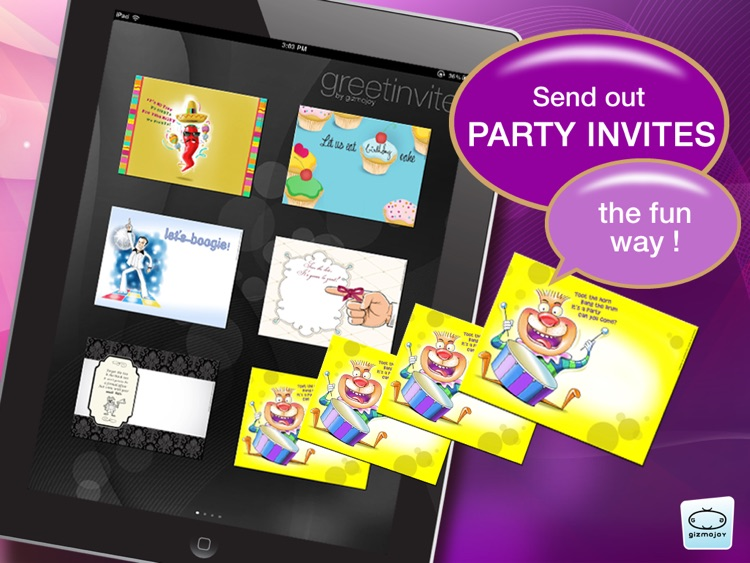 greetinvite-PARTY INVITES