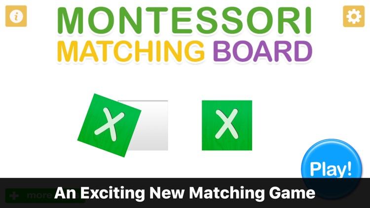 Montessori Matching Board