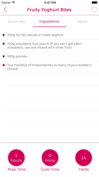 Fussy Toddler Recipes screenshot-3