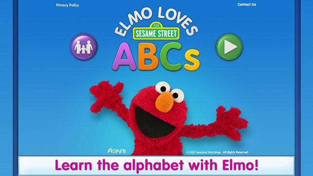 elmo loves abcs on the app store