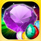 Gems Jewels Match 4 Puzzle Game for Boys & Girls icon