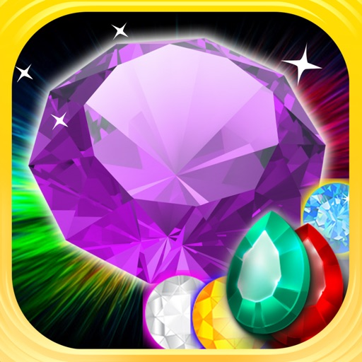 Gems Jewels Match 4 Puzzle Game for Boys & Girls