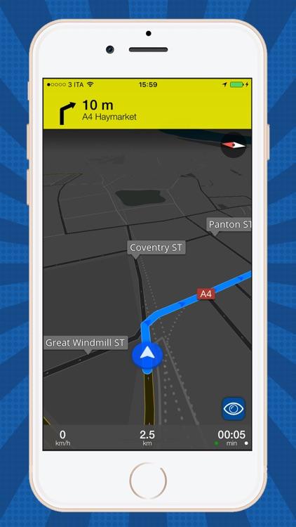Offline Map + Car Navigator screenshot-3