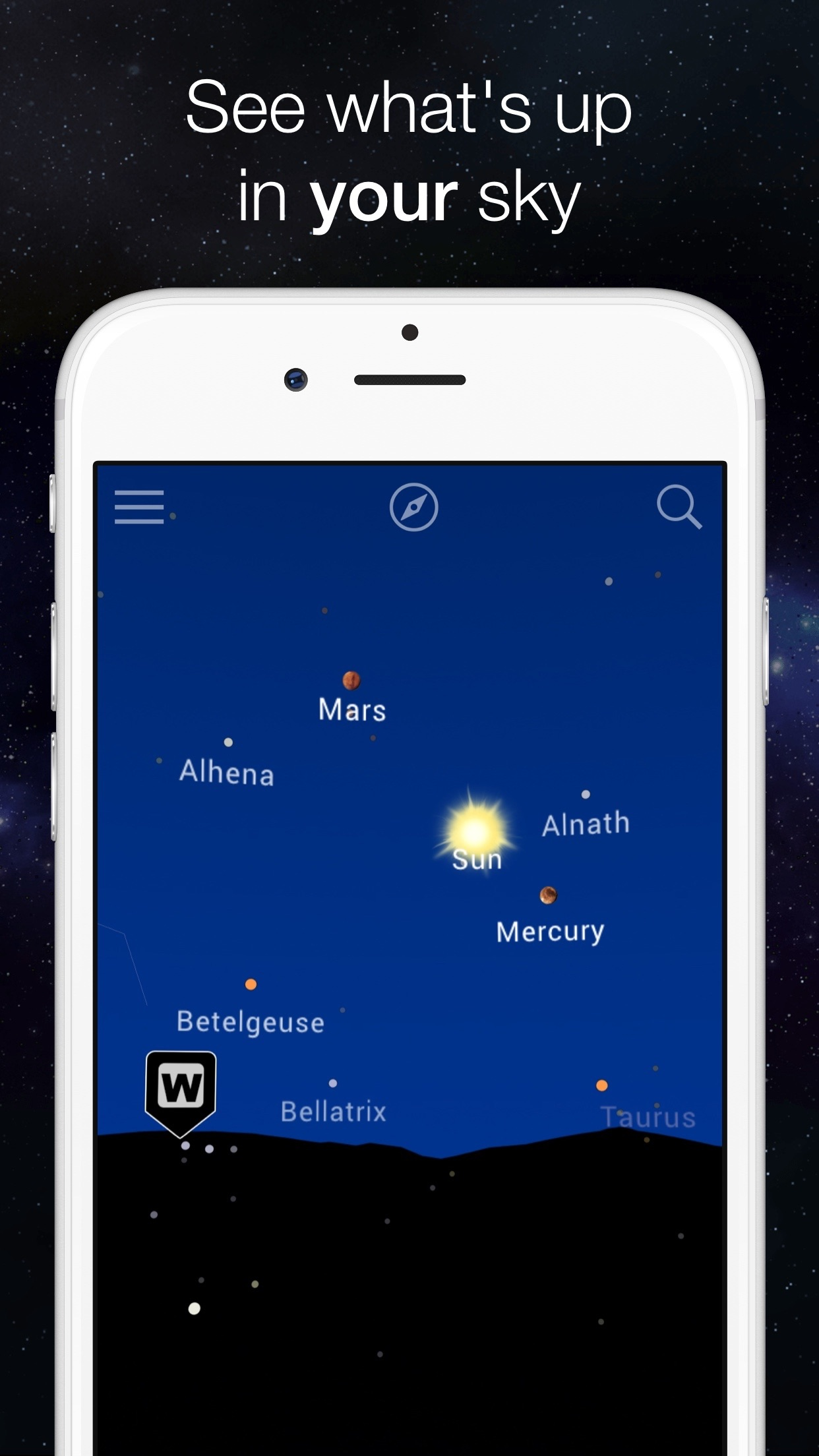 Night Sky Map: Planet Explorer Screenshot