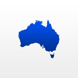 Topo maps Australia