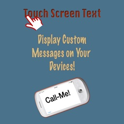 Touch Screen Text