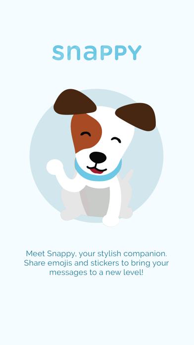 Snappy Emoji Keyboard screenshot one