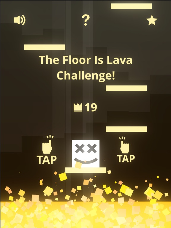 the floor is lava? gold