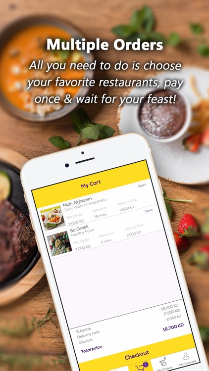 Cravez - Food Delivery screenshot-3
