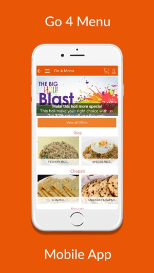 go 4 menu on the app store