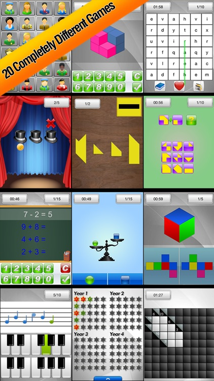Brain School - Training Games