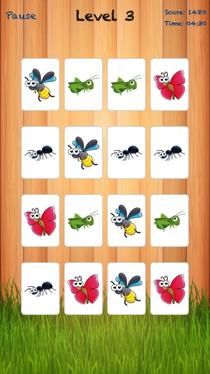 Bugland - Card Matching Game