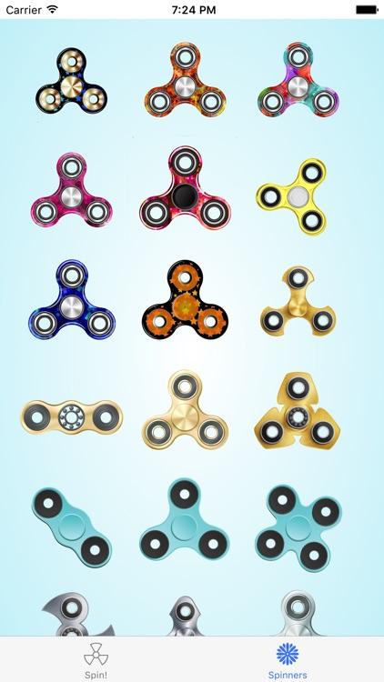 Fidget Spinner: a simple fidget spinner app!