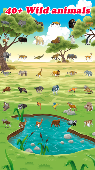Close Up Wild Animal Games that You Can Mate screenshot two