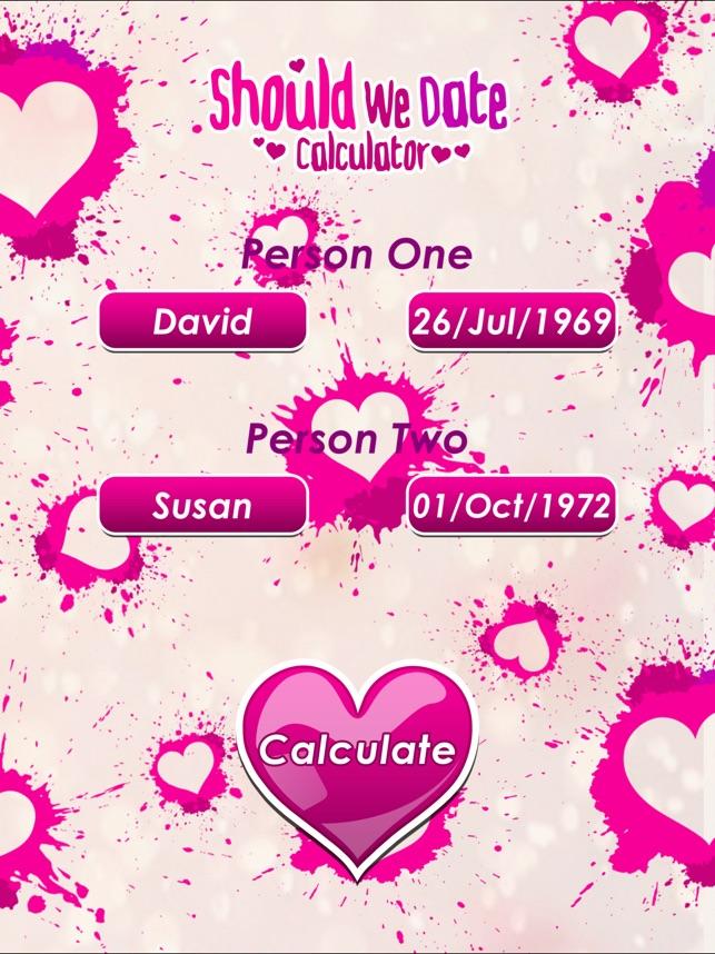 Hoe lang we zijn dating Calculator