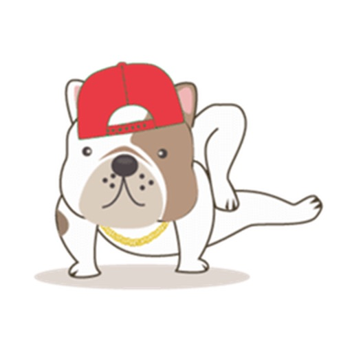 Funny English Bulldog Sticker Pack