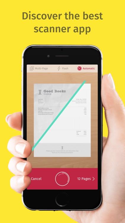 Scanner App & Fax - Scanbot screenshot-0