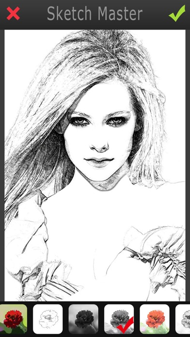 Sketch Master - My Cartoon Photo Filter Avatar Pad-1