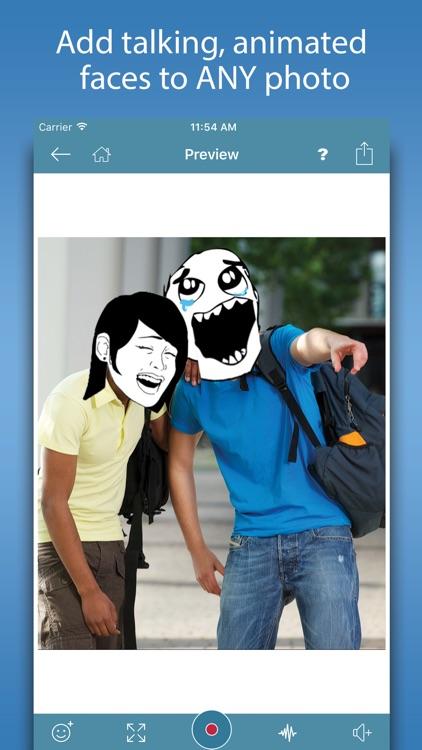 Video Rage Faces - Make Funny Memes & Rage Comics screenshot-0