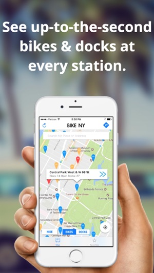 Bike Ny Citi Bike Directions Map On The App Store