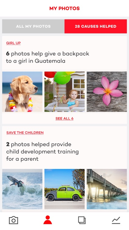 Donate a Photo - a free charity app screenshot-3