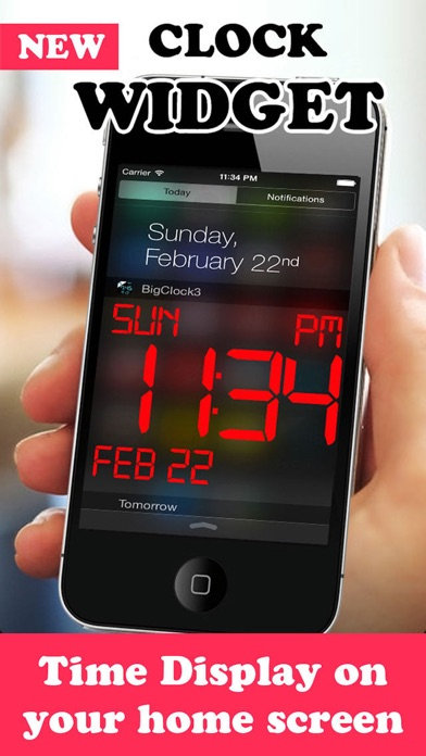 Screenshot #6 for iDigital Big2 Alarm Clock - Biggest Time Display