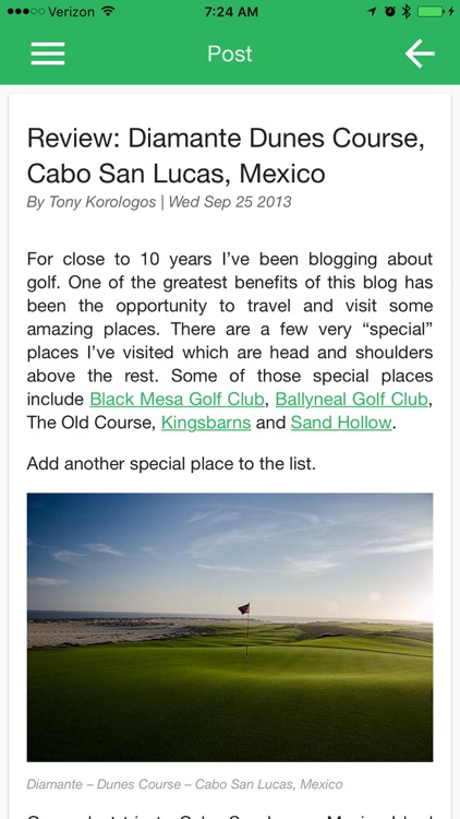 Hooked on Golf Blog screenshot-4