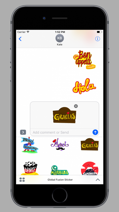 Global Fusion Sticker screenshot 3