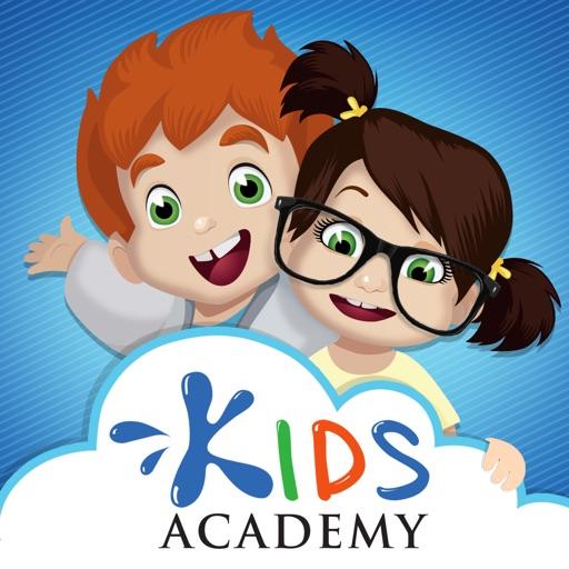 Kids Academy - preschool learning games for kids application logo