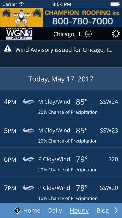 WGN-TV - Chicago Weather Center screenshot-3