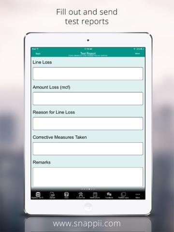 Pipeline Test Report App - náhled