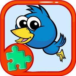 Jigsaw Games Education For Puzzle Bird