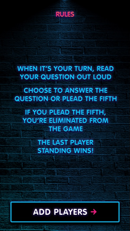 Plead the Fifth - The Game