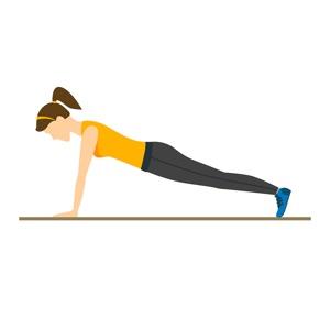 Woman's Plank